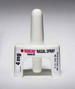Narcan Nasal Spray applicator